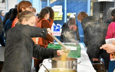 Le Potage des chefs a vendu ses 1 000 litres